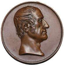 1829 England Death Of The Earl Of Bridgewater AE Medal E.1209