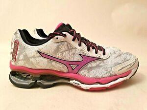 "Mizuno Wave Creation 16 ""Berry"" Womens running light (US8) trainer gel w"