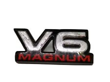 98-02 Dodge Dakota Durango Front Fender Side Emblem Badge Nameplate v6 Magnum