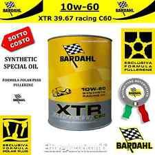 1 LITRO OLIO MOTORE AUTO BARDAHL XTR 39.67 RACING C60 10W60 PISTA CORSA 10W-60