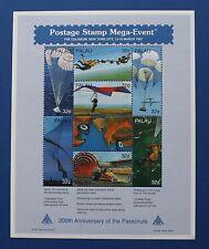 Palau (#422) 1997 200th Anniversary of the Parachute sheet (MNH)