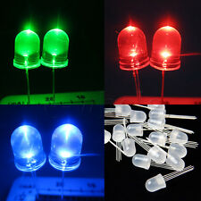20pcs Ultra-Bright 10mm 4pin RGB Diffused Lens LED Lamp Light Common Anode DT