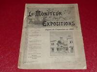 [REVUE EXPOSITION UNIVERSELLE 1900] LE MONITEUR DE 1900 N° 64 #  NOVEMBRE 1899