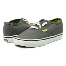 Vans Toddler Authentic Pop Shoes Pewter Lime Punch 10 New
