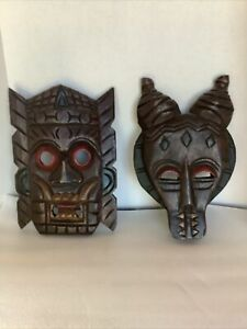 Wooden Handcarved Masks Thailand