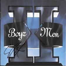 Boyz 2 Men signed / autographed CD Cover