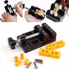 Mini Jaw Bench Clamp Drill Press Vice Opening Parallel Table Vise DIY Craft NT5