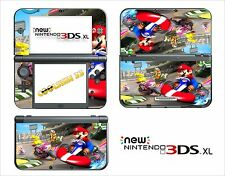SKIN STICKER AUTOCOLLANT - NINTENDO NEW 3DS XL - REF 82 MARIO KART