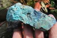Chrysocolla crystal Natural unpolished raw specimen lungs Throat Chakra 122.5g
