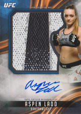 "2019 Topps UFC Knockout ""ASPEN LADD"" RC AUTO/3 COLOR JUMBO RELIC  #'D 99 WOW!!!!"