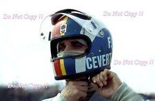 Francois Cevert Tyrell F1 Portrait Argentine Grand Prix 1972 Photograph