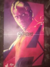 HOT TOYS AGE OF ULTRON Vision 1/6 Scale Figure EMPTY BOX