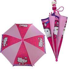 "Sanrio Hello Kitty 21"" Stars Umbrella w/3D Handle"