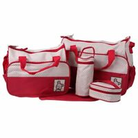Set Multi Function Baby Diaper Nappy Changing Bag Mummy Tote Shoulder Handbag