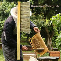 Wooden Natural Hive Clean Beekeeping Bee Brush Protecting Bees Not Hurting