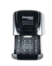 Energizer Rechargeable Compact Charger AA + AAA Wall Plug In 4 Batteries
