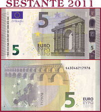 "(com) EUROPEAN UNION - ITALY 5 EURO 2013 Sign DRAGHI  ""SA""  S006C6 - P 20s - UNC"