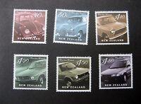 "NEW ZEALAND 2000 ""ON THE ROAD"" MOTOR CARS SET NHM SG 2329/34"