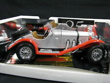 Bburago Mercedes-Benz SSKL 1:18 Silver / Red (JS)