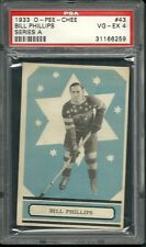 1933 OPC #43 Bill Phillips PSA 4