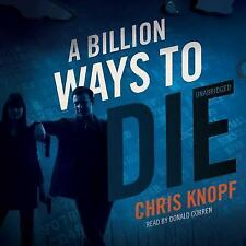 Arthur Cathcart: A Billion Ways to Die Vol. 3 by Chris Knopf Audio Book on CD