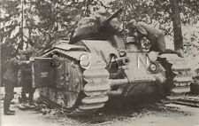 WWII French Panzer Tank- Renault Char B1 Heavy Tank- Private Archive Photo