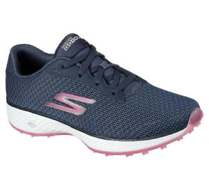 Skechers Ladies Go Golf Eagle Range Golf Shoes - Navy/Pink