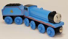 Thomas Wooden Railway Gordon The Big Blue Engine & Tender 1999 train wood track