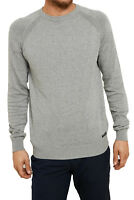 Threadbare Mens Tuscan Knit Sweater Lightweight Classic Pull Over Raglan Jumper