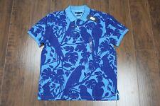 Tommy Hilfiger Men's Size Large Animal Hawaiian Polo Golf Shirt NWT