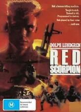 RED SCORPION - DOLPH LUNDGREN M EMMET WALSH ACTION NEW DVD MOVIE SEALED