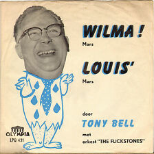 "TONY BELL ""WILMA / LOUIS"" 60'S SP OLYMPIA 431"
