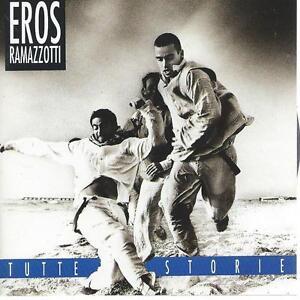 CD album EROS RAMAZOTTI - TUTTE STORIE  ITALO POP