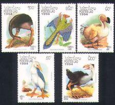 Laos 1994 Prehistoric Birds/Nature/Wildlife/Animals 5v set (b8053)