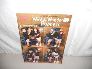 AMERICAN SCHOOL OF NEEDLEWORK PLASTIC CANVAS - WILD & WONDERFUL PUPPETS 3197