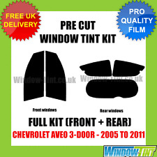 CHEVROLET AVEO 3-DOOR 2005-2011 FULL PRE CUT WINDOW TINT