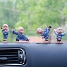2016 New Fashion Car Decoration Cute Doll 4 Kung Fu Monk Interior Accessories