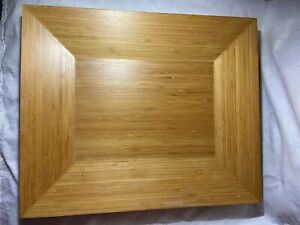 """Pampered Chef Bamboo Large Tray 18"""" x 15"""" - In Great Condition"""