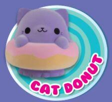 *New* Orb Soft' 'n Slo Squishies Pink and Purple Velvet Cat Doughnut™
