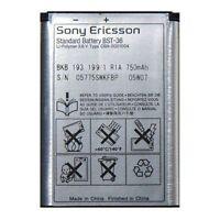 OEM Battery BST36 For Sony Ericsson W200 Z558i Z310a J200 J220i J300 K310i K750