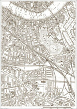 Rotherhithe, Wapping, Old Kent Rd. - London 1888 map 25