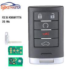 Smart Remote Key Fob 315MHz 5B for Cadillac CTS STS 2008-2014 FCCID:M3N5WY7777A