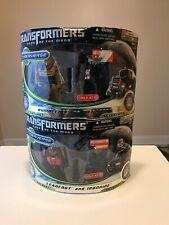 Transformers DOTM Cyberverse 2-Packs Bumblebee Megatron Leadfoot Ironhide Target