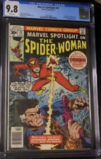 Marvel Spotlight 32 CGC 9.8  1st Spider-Woman  White Pages 1397518001