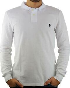 Polo Ralph Lauren Slim Fit Bianco 100% ORIGINALE
