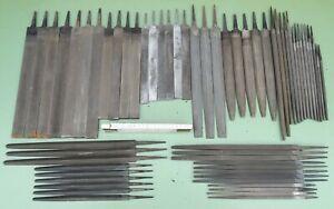 60 Werkstattfeile Flachfeile Rund Dreikant Vierkant Halbrund Feile Metall Feilen
