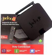 NEW JADOO 5S 4K ULTRA HD QUAD CORE 2GB DDR BLUETOOTH VIDEO CALLING 2 YR WARRANTY