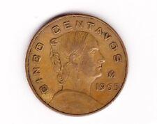 Estados Unidos Mexicanos 5 Centavos Coin 1965  !