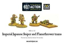 Warlord Games Bolt Action Japanese Sniper and Flamethrower teams (WGB-JI-32)