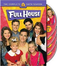 Full House: The Complete Sixth Season [4 Discs] (2007, DVD NEW)